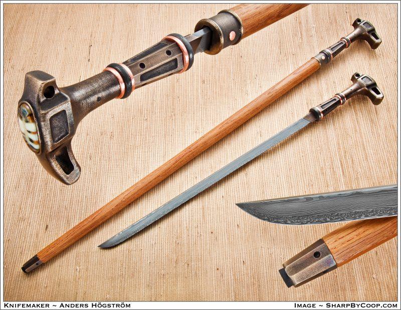 Shikomizue-Sword Cane by Anders Högström