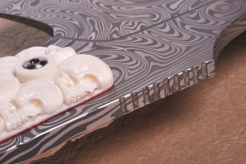 Skull Cleaver by Anders Högström