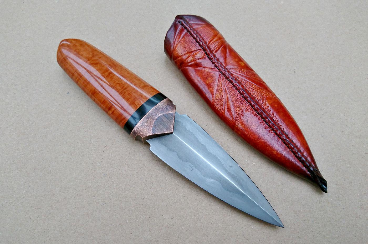 Briar Pocket Dagger by Anders Högström