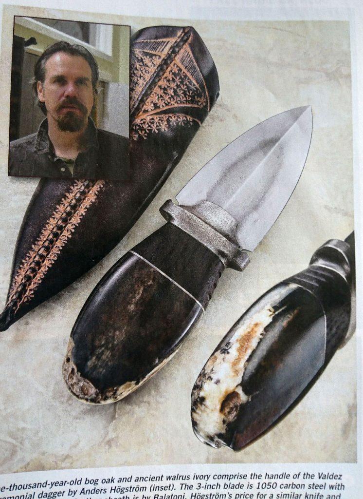 Anders Högstrom in Blade Magazine